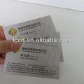 Personalizado a prueba de agua auto- adhesivo de la etiqueta etiqueta,papel de etiqueta de la etiqueta para la impresión
