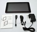A13 q88 7 pulgadas android 4.0 pantalla capacitiva mesa de pc a mediados, q88, mid tableta a13