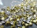 vidrio piedras rhinestone para la decoración de la ropa