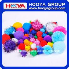 fiesta de la moda de acrílico decoración pompones