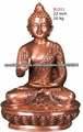 Mano estatua bronce de Buda