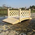 al aire libre puente de madera jardín