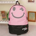 новый дизайн 2012 улыбкой лицо мешки школы школы рюкзак мешок рюкзаки нейлоновые мешки.