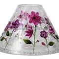 natal esfera de vidro suporte de vidro do chuveiro para lustres de mesa para casamentos
