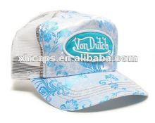de malla de verano fresco sombreros para las niñas