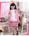Princesa de la moda los niños niñas hinchada de gasa vestidos para niñas niños de siete años de edad usar el vestido