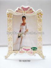 2014 caliente venta de leche blanca marco de imagen