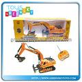 2013 venta caliente 8ch excavadora de control remoto para los niños