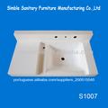 Pia da cozinha italiana/superfície sólida cozinha design/pedraartificial bacia de lavagem