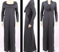 venta al por mayor directa de la fábrica musulmán abaya vestido clásico de arábica abaya negro