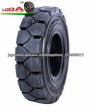 sólido neumático de la rueda de goma