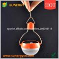 Bombilla solar de color naranja vente al por mayor