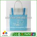 azul precioso de la compra bolsa de papel para la ropa infantil