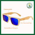 2015 de color madera de gafas de sol gafas de sol