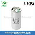 CBB65A-1 condensador, condensador de funcionamiento, caja de aluminio del condensador