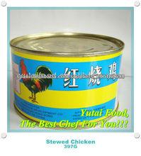 Listo para comer comida tradicional conserva Pollo guisado chino