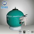 Ms série lado- montagem piscina filtro de areia e filtro de areia industrial