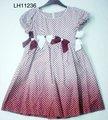 100% popelín de algodón de verano falda de niña