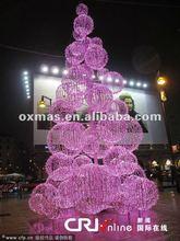 montado de bolas de navidad decoración de bolas