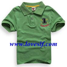 2014 loveslf ropa de los niños al por mayor fabricantes/de alta calidad polo
