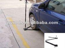 La rueda del coche de base/plegable base de tiro/la bandera que enarbolan las bases con sistema de rodamientos