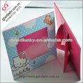 Usine de production à bas prix et de haute qualité d'impression couleur cadre photo en carton