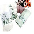 100% fibradebambu toalhas-- folhas de bambu