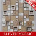 EMLFH01,patrón de la hoja de mosaico de cerámica