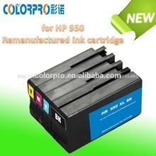 cartucho de inyección de tinta compatible para hp 950 951 reciclado cartucho de tinta para hp officejet 8100 8600
