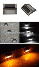 Solaire lumières cage d'escalier, cage d'escalier d'éclairage extérieur, extérieur lampe étape