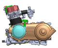 Atv 320cc 4x4 motor de agua- refrigerado por, del eje de equilibrio, cvt h-l-n-r( directa de la fábrica)