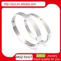 venta al por mayor joyería sillver joyería de acero inoxidable pulsera de moda de accesorios