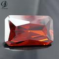 alibaba China rectángulo granate de piedras preciosas,piedra preciosa sintética