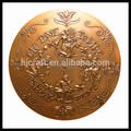 la costumbre de cobre antiguo católica medallas