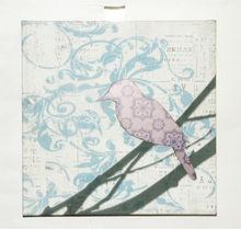 Pintura expresionista tres- dimensional de los animales de aves de arte fino lienzo impresiones