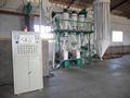 Fresadoras trigo pequeña escala para el mercado de África