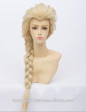 luz cor de kanekalon trança yaki amante de sonho sintética trança dourada feminino cosplay perucas de cabelo da menina