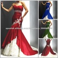rojos y blancos vestidos de novia