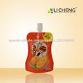 materiales de empaque nuevos productos de belleza 2014 ropa beben bolsa con spo
