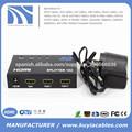 1 entrada 2 salidas hdmi splitter para hdtv 1080p puerto hdmi