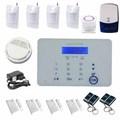 Alarme maison sans fil GSM Autodial hôte d'alarme, système de sécurité et protection contre cambriolage et incendie pour maison