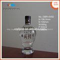 personalizado 500ml tequila de lujo botella de vidrio