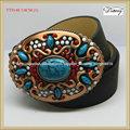colorido tt9148 occidental las mujeres de moda vestido de cinturones