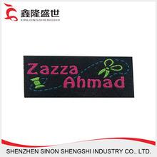 Etiquetas personalizadas Garment pano remendo relíquia de tecidos