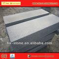Gris de piedra de las escaleras, escaleras de granito de piedra con buena calidad