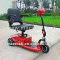 Eléctrico pequeño cee ciclomotor scooter trike dl24250-1 para adultos con el certificado del ce