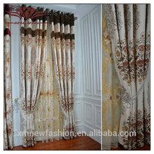 De lujo cortinas cortinas, tulipán rojo forrado plisado del lápiz cortinas, de lujo listo cortina hecha de lujo