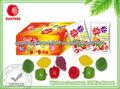 Fruta dulces gomosos