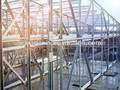 Marco de acero galvanizado de la estructura de almacén jhx-ss3016-l