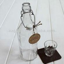 de alta calidad superior swing botella de vidrio al por mayor